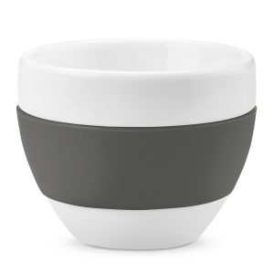 AROMA Cappuccino-Tasse 100ml als Werbeartikel mit Logo bedrucken