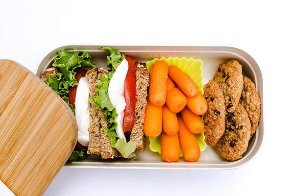 PRESIT® Bambus Lunchbox – Brotdose Innen