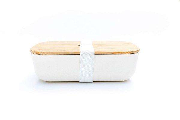 PRESIT® Bambus Lunchbox – Brotdose geschlossen