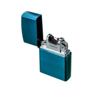 Werbeartikel Lichtbogenfeuerzeug REFLECTS-PATERSON BLUE