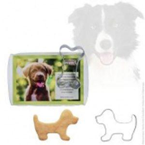 Mit diesen Backförmchen in Hund- oder Knochenform aus Edelstahl (spülma- schinenfest) backt Herrchen oder Frauchen die Lieblingskekse zum selber genießen oder für seinen Vierbeiner.