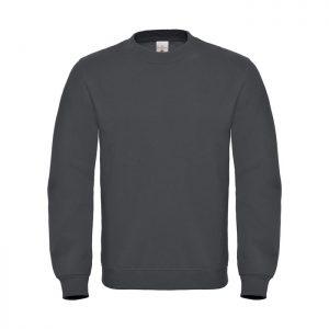 Sweatshirt ID.002 COTTON RICH SWEATSHIRT - Anthracite - Sweatshirts