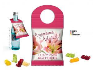 BottleBag mit Fruchtgummi als Werbeartikel mit Logo im PRESIT Online-Shop bedrucken lassen