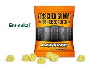 Em-eukal Gummidrops als Werbeartikel mit Logo im PRESIT Online-Shop bedrucken lassen