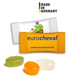 Bonbons im Flowpack [1kg Pack] als Werbeartikel mit Logo im PRESIT Online-Shop bedrucken lassen
