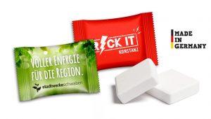 Traubenzuckerwürfel im Flowpack als Werbeartikel mit Logo im PRESIT Online-Shop bedrucken lassen