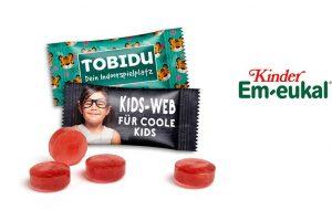 Kinder Em-eukal als Werbeartikel mit Logo im PRESIT Online-Shop bedrucken lassen