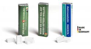 Pfefferminzriegel als Werbeartikel mit Logo im PRESIT Online-Shop bedrucken lassen
