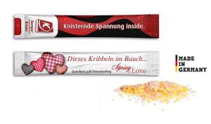 Knisterbrause als Werbeartikel mit Logo im PRESIT Online-Shop bedrucken lassen