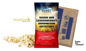 Mikrowellen Popcorn als Werbeartikel mit Logo im PRESIT Online-Shop bedrucken lassen