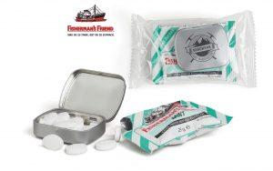 Fisherman's Friend Combi Pack (Mini Nostalgiedose) als Werbeartikel mit Logo im PRESIT Online-Shop bedrucken lassen
