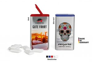 FlipTin als Werbeartikel mit Logo im PRESIT Online-Shop bedrucken lassen