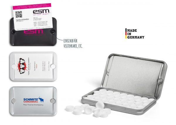 B2Box mit Lasergravur als Werbeartikel mit Logo im PRESIT Online-Shop bedrucken lassen