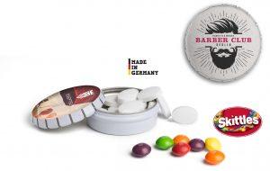 Mini Clic Clac Box als Werbeartikel mit Logo im PRESIT Online-Shop bedrucken lassen