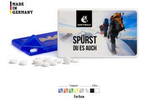 MintCard als Werbeartikel mit Logo im PRESIT Online-Shop bedrucken lassen
