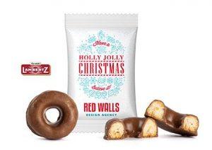 Mini Donut Keks als Werbeartikel mit Logo im PRESIT Online-Shop bedrucken lassen
