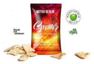 Apfelchips als Werbeartikel mit Logo im PRESIT Online-Shop bedrucken lassen