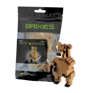 Brixies Bär mit logo bedrucken lassen