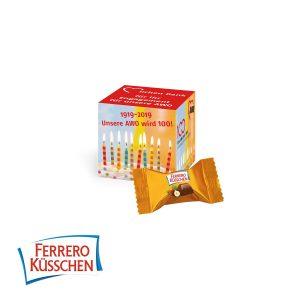 Werbe-Würfel mit FERRERO Küsschen