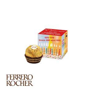 Werbe-Würfel mit FERRERO Rocher