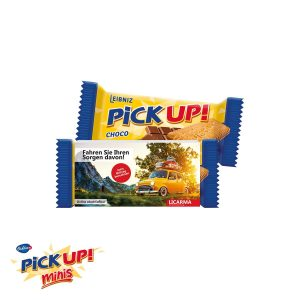 PICK UP CHOCO Mini als Werbeartikel mit Logo im PRESIT Online-Shop bedrucken lassen
