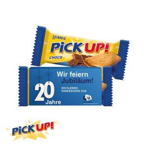 PICK UP CHOCO als Werbeartikel mit Logo im PRESIT Online-Shop bedrucken lassen