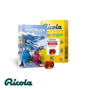 Ricola Kräuterbonbons als Werbeartikel mit Logo im PRESIT Online-Shop bedrucken lassen