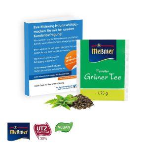 Premium-Tee in der Werbe-Klappkarte als Werbeartikel mit Logo im PRESIT Online-Shop bedrucken lassen