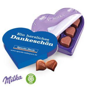 I LOVE MILKA als Werbeartikel mit Logo im PRESIT Online-Shop bedrucken lassen