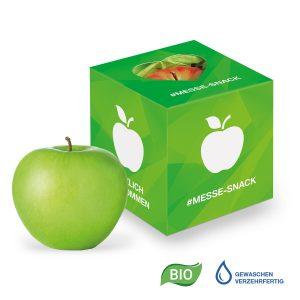Werbe-Apfel in Promotion-Box als Werbeartikel mit Logo im PRESIT Online-Shop bedrucken lassen