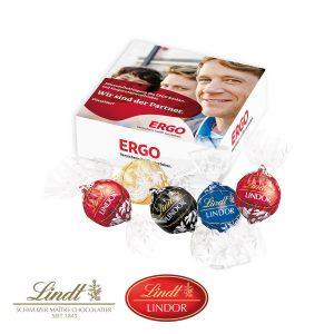Lindor-Präsent als Werbeartikel mit Logo im PRESIT Online-Shop bedrucken lassen