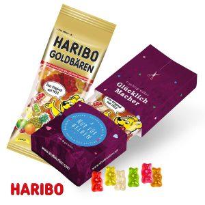 Fruchtgummi Promo-Pack als Werbeartikel mit Logo im PRESIT Online-Shop bedrucken lassen