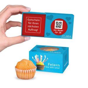 Mini Muffin Trend als Werbeartikel mit Logo im PRESIT Online-Shop bedrucken lassen