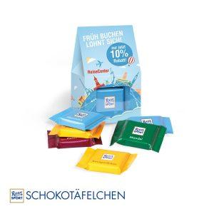 Businesspräsent Selection Mini Ritter Sport als Werbeartikel mit Logo im PRESIT Online-Shop bedrucken lassen