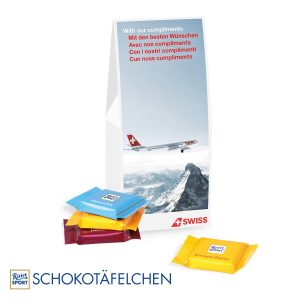 Businesspräsent Selection Ritter Sport als Werbeartikel mit Logo im PRESIT Online-Shop bedrucken lassen