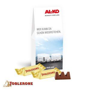 Businesspräsent Selection Toblerone als Werbeartikel mit Logo im PRESIT Online-Shop bedrucken lassen