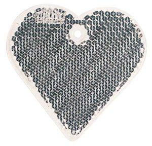 Detailansicht 1 – Fußgängerreflektor Herz