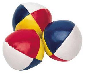 Detailansicht 1 – Jonglierball mit 4 Segmenten
