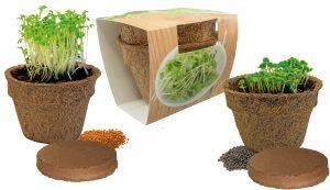 Kräuterduo Eco als Werbeartikel mit Logo im PRESIT Online-Shop bedrucken lassen