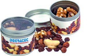 Der Gesunde Snack als Werbeartikel mit Logo im PRESIT Online-Shop bedrucken lassen