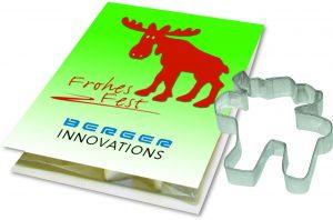 Backe Deinen süssen Elch als Werbeartikel mit Logo im PRESIT Online-Shop bedrucken lassen