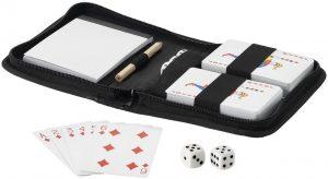 Tronx 2-teiliges Spielkarten-Set im Beutel im PRESIT Werbeartikel Online-Shop