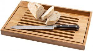 Bistro Schneidbrett mit Brotmesser im PRESIT Werbeartikel Online-Shop