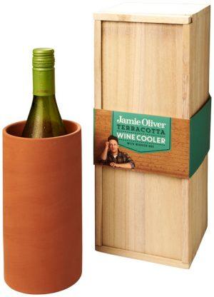 Terracotta Weinkühler im PRESIT Werbeartikel Online-Shop