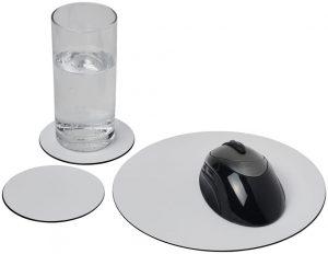Brite-Mat® Mousepad- und Untersetzer-Set Combo 5 im PRESIT Werbeartikel Online-Shop
