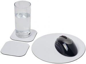Brite-Mat® Mousepad- und Untersetzer-Set Combo 6 im PRESIT Werbeartikel Online-Shop