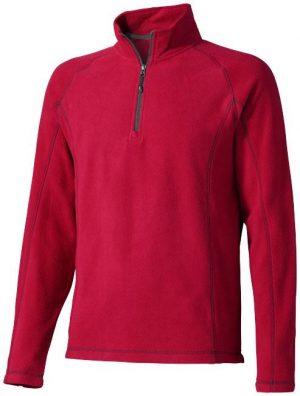Bowlen Langarm Fleeceshirt mit 1/4 Reißverschluss im PRESIT Werbeartikel Online-Shop