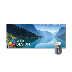 ActiveTowel® Sports Microfaser-Sporthandtuch 100x40 cm als Werbeartikel mit Logo im PRESIT Online-Shop bedrucken lassen