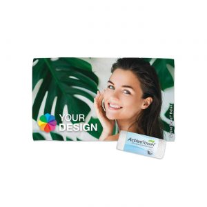 ActiveTowel® Relax Wohlfühl-Handtuch 50x30 cm  als Werbeartikel mit Logo im PRESIT Online-Shop bedrucken lassen