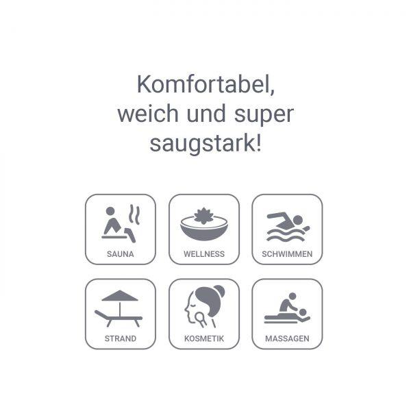 Detailansicht 4 – ActiveTowel® Relax Wohlfühl-Handtuch 180x70 cm